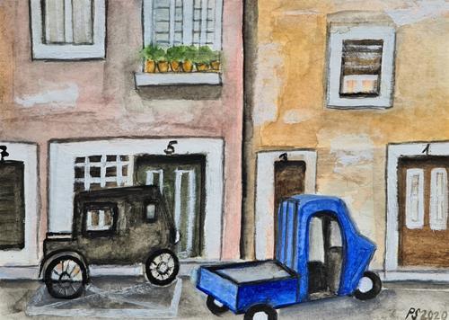 Peter Seiler, Strada in Firenze, Situationen, Moderne