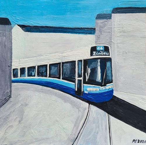 Peter Seiler, Flexity Tram Zürich, Verkehr: Bahn, Moderne