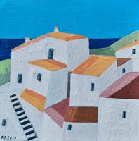 Peter Seiler, Andalusia village abstract