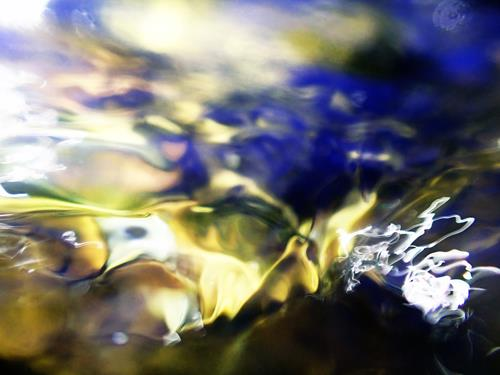 Andrea Kasper, Das Wasser tanzt, Abstraktes, Natur: Wasser, Gegenwartskunst