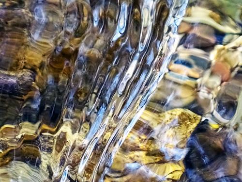 Andrea Kasper, Wassereskapaden, Abstraktes, Natur: Wasser, Gegenwartskunst