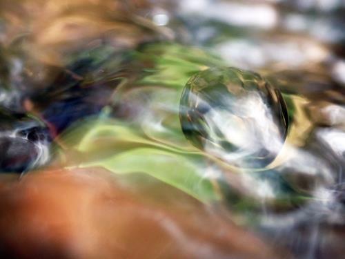 Andrea Kasper, Sommerturbulenzen, Abstraktes, Natur: Wasser, Gegenwartskunst