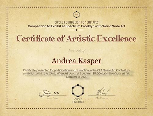 Andrea Kasper, Spectrum Brooklyn ART FAIR New YORK, Arbeitswelt, Arbeitswelt, Gegenwartskunst