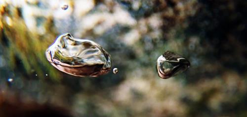Andrea Kasper, Luft, surreal, Abstraktes, Natur: Wasser, Gegenwartskunst