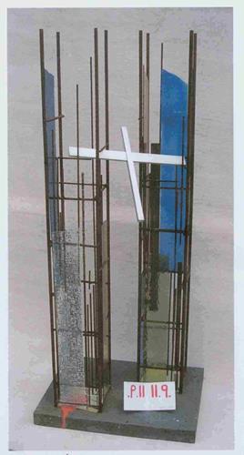 Helmut Schuster, 11. September, Bauten, Abstrakte Kunst