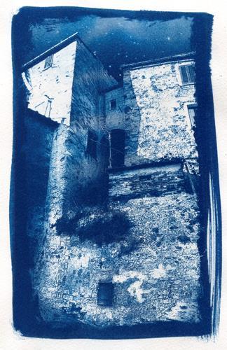 Frank Binder, Castelnuovo di Val di Cecina, Wohnen: Dorf, Symbol, Realismus, Expressionismus