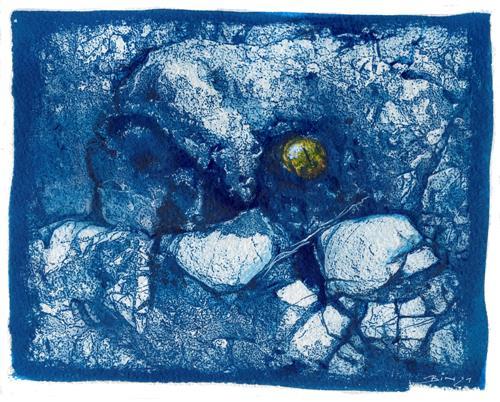 Frank Binder, Konglomerat, Natur: Gestein, Abstrakte Kunst