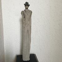 Adele Weiler, Mann mit Hut