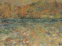 Polona-Petek-Landschaft-See-Meer-Gegenwartskunst--Gegenwartskunst-