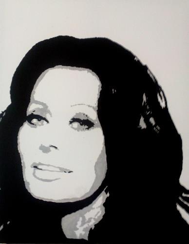 Christian Wildauer, Sophia Loren, Menschen: Porträt, Pop-Art