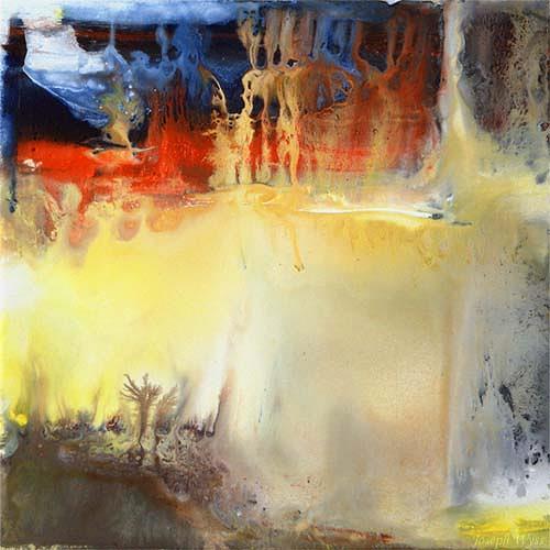 Joseph Wyss, O/T, Abstraktes, Gegenwartskunst, Expressionismus