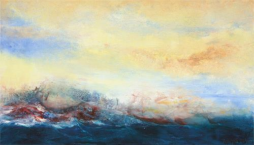 Joseph Wyss, O/T, Abstraktes, Natur: Wasser