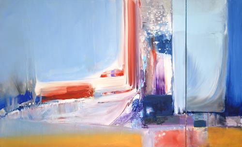 Joseph Wyss, O/T, Abstraktes, Abstraktes, Gegenwartskunst, Expressionismus