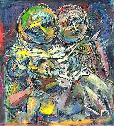 (E. Heriberto) Hestra, De la serie: Niños músicos, Menschen: Kinder, Tiere: Land