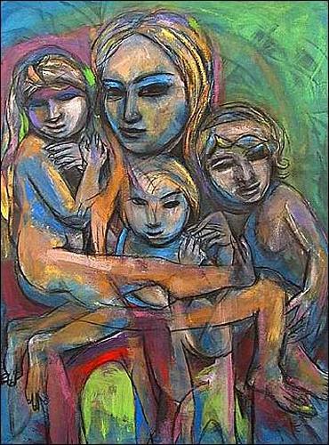 (E. Heriberto) Hestra, De la serie: La familia, Gefühle: Stolz, Menschen: Familie