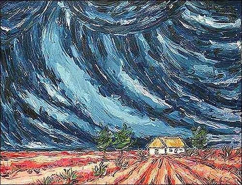Lopito, Bohío IV, Diverse Landschaften, Landschaft: Ebene, Expressionismus