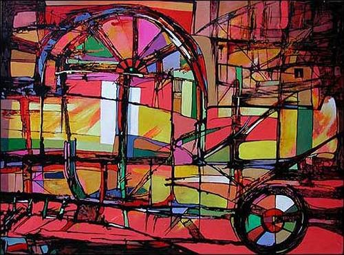 Ulises Tabares, O/T, Architektur, Abstraktes