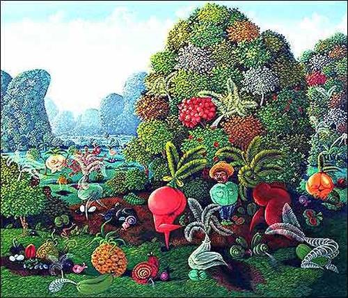 Ramón Vázquez, Los Romances de un Güajiro, Landschaft: Berge, Landschaft: Tropisch, Expressionismus