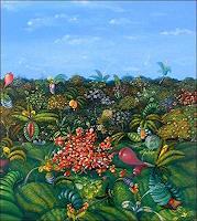 Ramon-Vazquez-Landschaft-Ebene-Pflanzen-Blumen