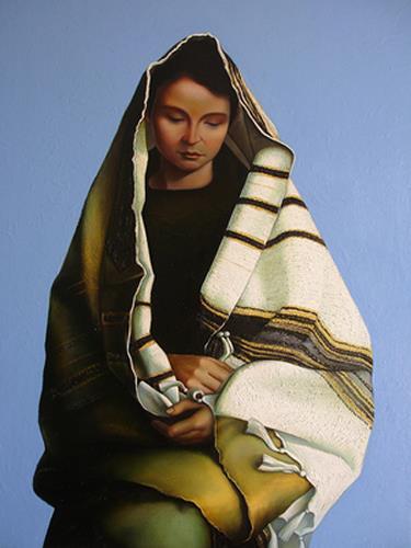 Ghenadie SONTU, Madonna, Religion, Menschen: Porträt, Realismus, Abstrakter Expressionismus