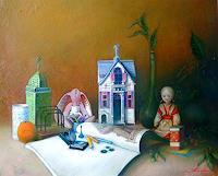 Ghenadie-SONTU-Romantik-Menschen-Kinder-Neuzeit-Realismus