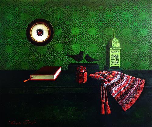 Ghenadie SONTU, The Secret, Stilleben, Gefühle, Realismus, Expressionismus