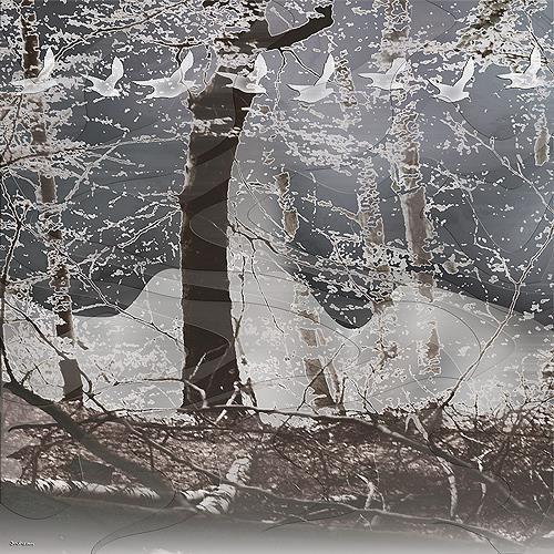 Dieter Bruhns, Smell of Winter, Natur: Diverse, Zeiten: Winter, Gegenwartskunst, Expressionismus