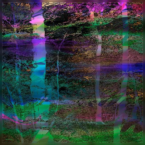 Dieter Bruhns, Softly Moving Branches, Gefühle, Abstrakte Kunst, Abstrakter Expressionismus