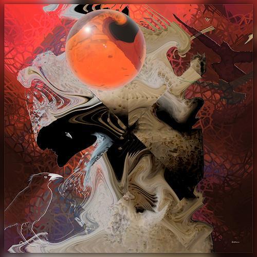 Dieter Bruhns, Invention, Fantasie, Abstrakte Kunst, Abstrakter Expressionismus