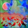 Dieter Bruhns, Red Birds