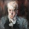 Dieter Bruhns, Male Portrait, Painter