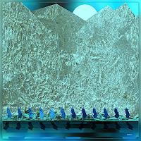 Dieter Bruhns, Blue Echo