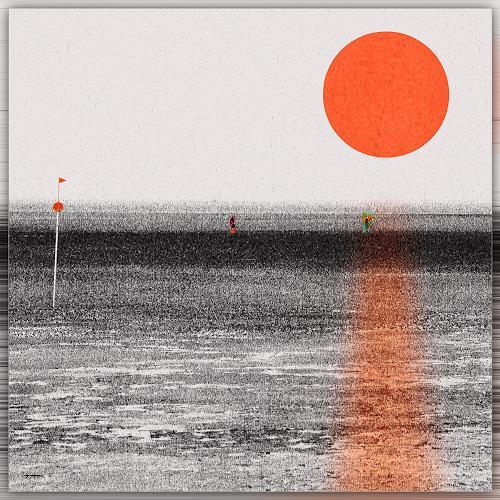 Dieter Bruhns, Wattenmeer, Fantasie, Abstrakte Kunst, Abstrakter Expressionismus