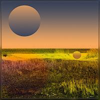 Dieter-Bruhns-Landschaft-Moderne-Abstrakte-Kunst