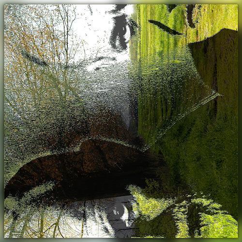 Dieter Bruhns, Hear the Grass Grow, Fantasie, Abstrakte Kunst