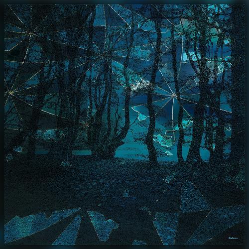 Dieter Bruhns, When Zero Degrees is Calling in the Night, Landschaft, Abstrakte Kunst, Abstrakter Expressionismus