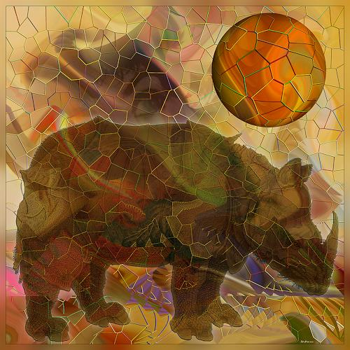 Dieter Bruhns, Friends' Changes, Abstraktes, Abstrakte Kunst