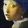 Dieter Bruhns, Female Portrait, Menschen: Porträt, Abstrakte Kunst