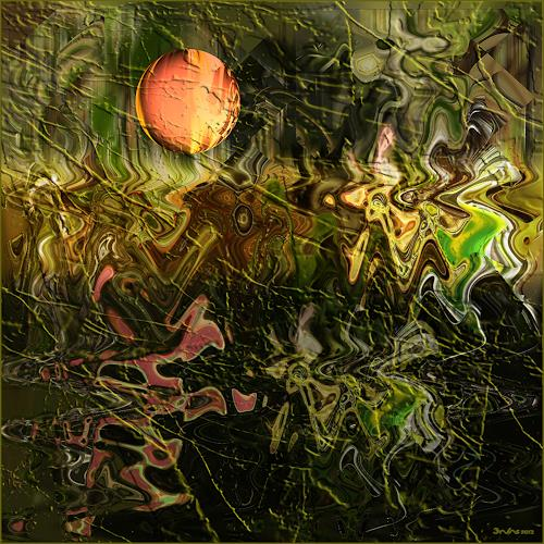 Dieter Bruhns, Triumvirate, Abstraktes, Abstrakte Kunst