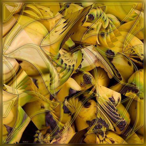 Dieter Bruhns, Sambanana, Abstraktes, Abstrakte Kunst