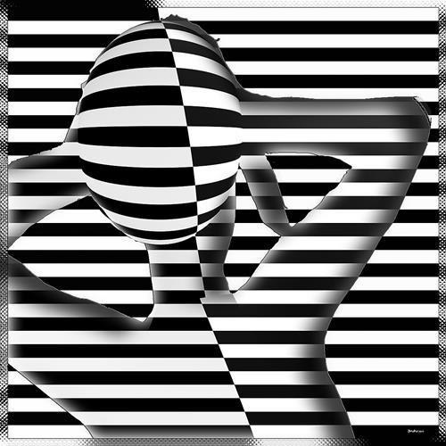 Dieter Bruhns, Summer Mood, Fantasie, Abstrakte Kunst, Abstrakter Expressionismus