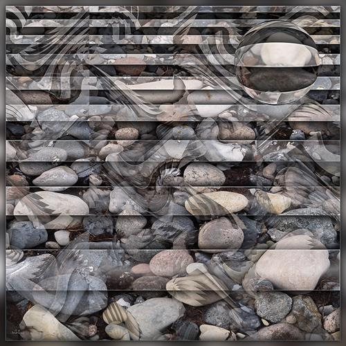 Dieter Bruhns, Traces, Natur, Abstrakte Kunst