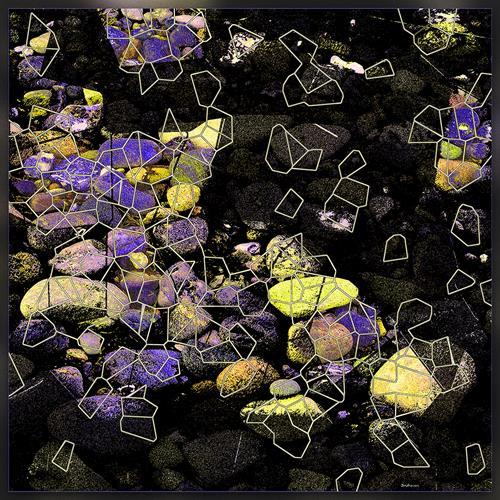 Dieter Bruhns, Glacier's Footprints, Abstraktes, Abstrakte Kunst, Abstrakter Expressionismus