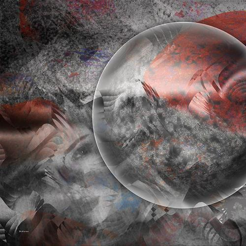 Dieter Bruhns, Power of Cohesion, Abstraktes, Abstrakte Kunst