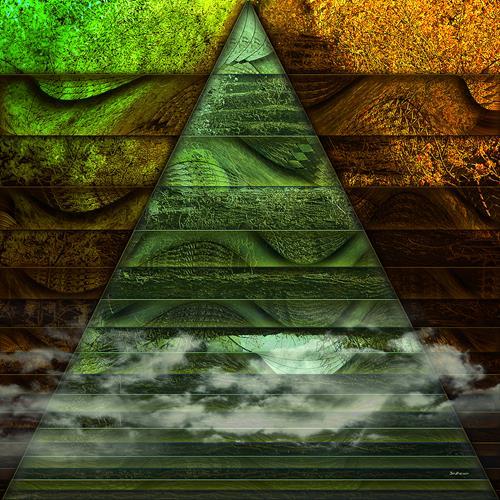 Dieter Bruhns, Triangle, Abstraktes, Abstrakte Kunst