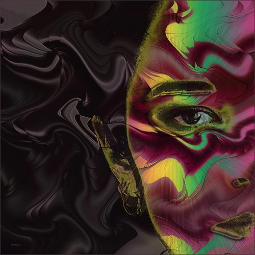 Dieter Bruhns, Floating, Abstraktes, Abstrakte Kunst