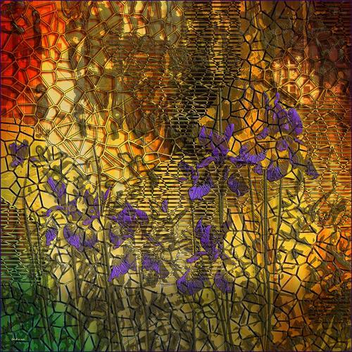 Dieter Bruhns, Masonry, Abstraktes, Abstrakte Kunst