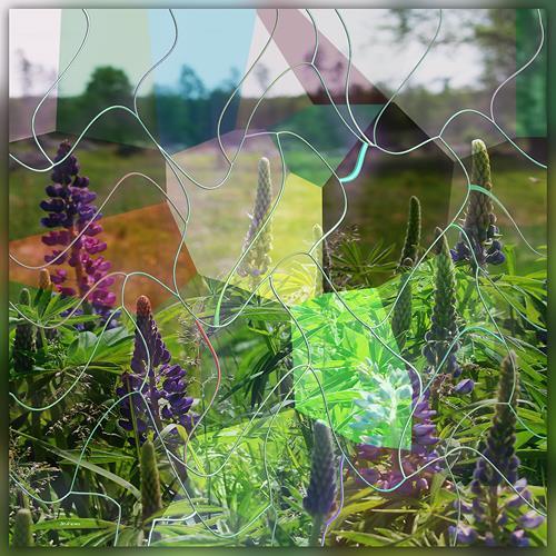 Dieter Bruhns, Moving Spring, Landschaft, Abstrakte Kunst