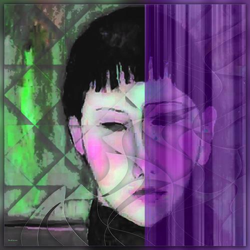 Dieter Bruhns, Mistreatment, Menschen, Abstrakte Kunst