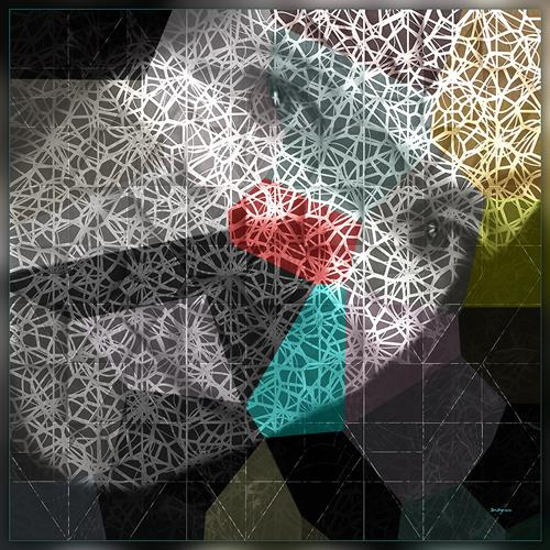 Dieter Bruhns, Random Clown, Abstraktes, Abstrakte Kunst